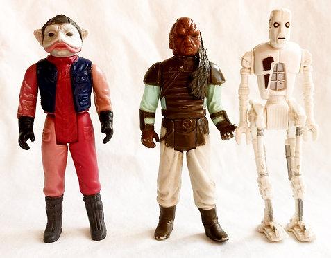 Vintage Star Wars Return Of The Jedi Figure Set Kenner 1983