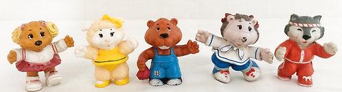 Get Along Gang PVC Mini Figure Set Portia 1984