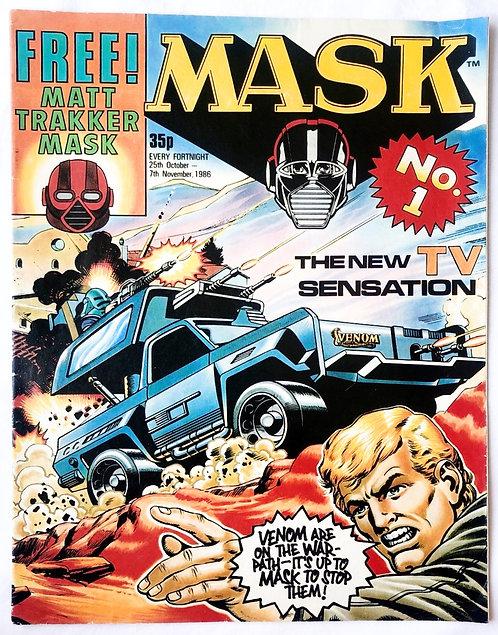 M.A.S.K. Comic No.1 U.K. 1986