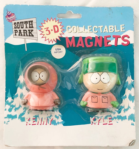 South Park 3-D Collectable Mangets USA Import 1998
