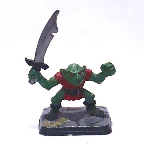 Vintage Heroquest Goblin Mini (painted)