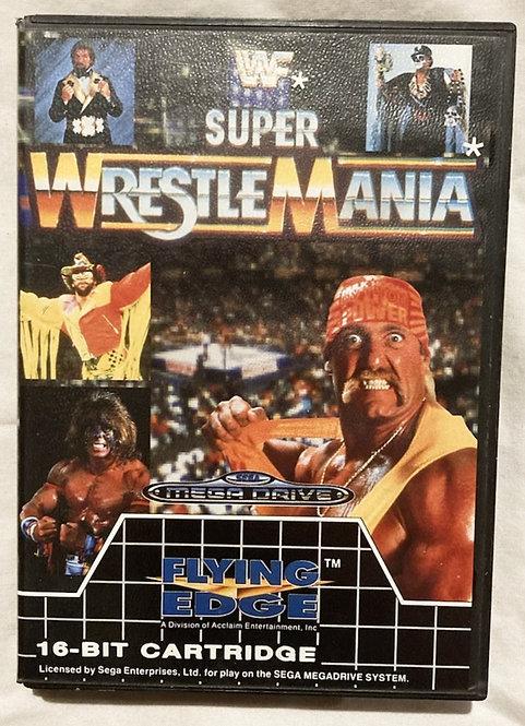 Sega Mega Drive Super Wrestle Mania Flying Edge 1991