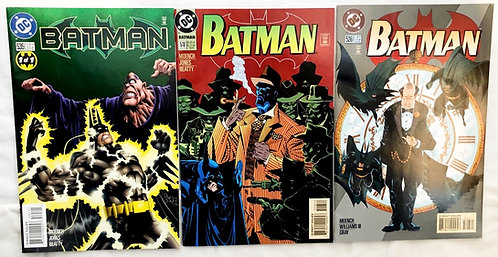 Batman Comic Set #518 #526 #535