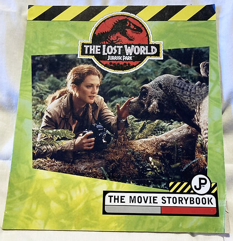 Jurassic Park The Lost World The Movie Storybook