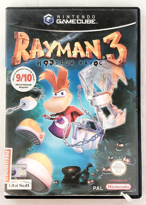 Rayman 3 Nintendo Gamecube U.K. (PAL)