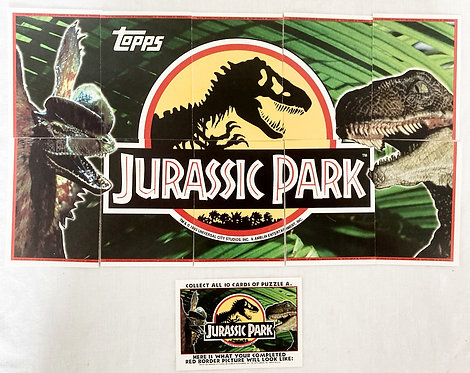 Jurassic Park Trade Cards 1-10 Topps 1993