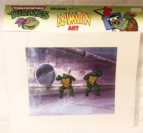 Teenage Mutant Hero Turtles Original Animation Cel 1988