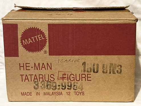 He-Man The New Adventures Tatarus Shipping Box Matt