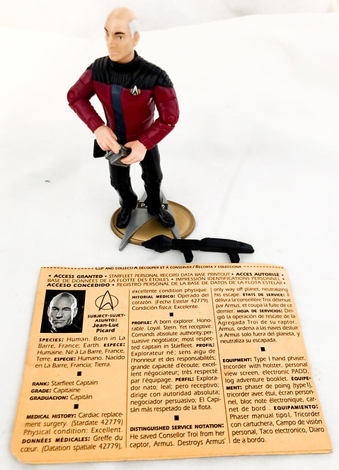 Star Trek The Next Generation Picard Playmates 1992