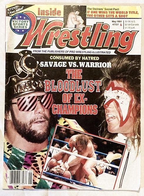 Inside Wrestling May 1991