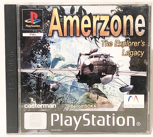 Amerzone PlayStation Game U.K. (PAL)