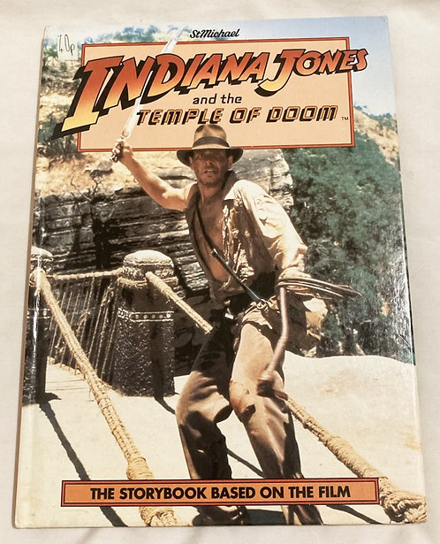 Indiana Jones And The Temple Of Doom Storybook 1984