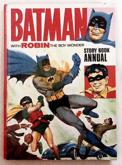 Batman With The Boy WonderStorybook Annual 1966