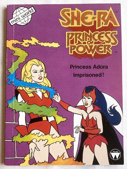 She-Ra Princess Of Power Princess Adora Imprisoned Story Book 1986