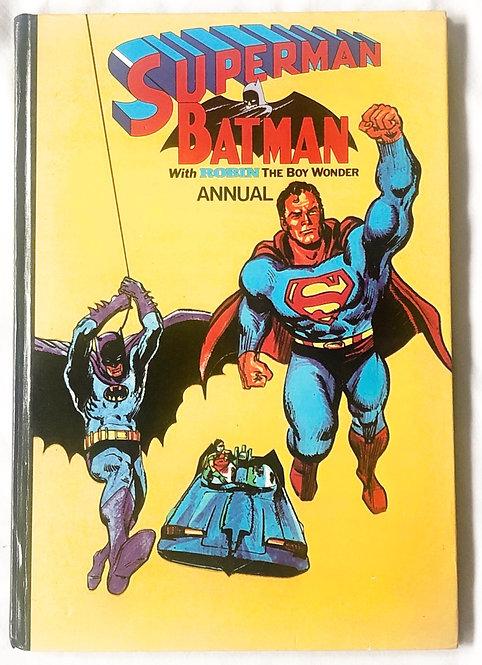 Superman And Batman Annual 1977