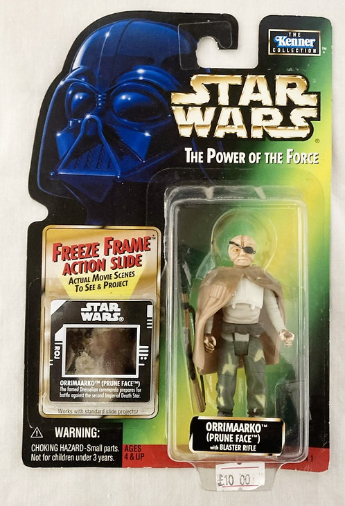 Star Wars The Power Force Prune Face Kenner 1995
