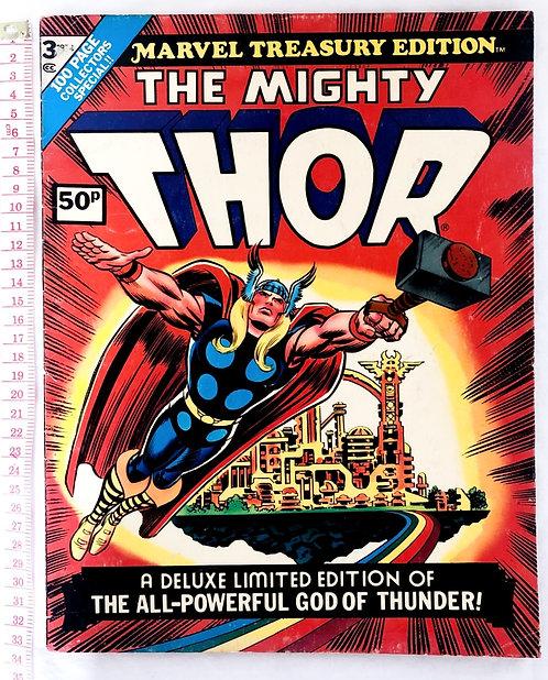 The Mighty Thor #3 Marvel Treasury Edition Bronze Age 1974