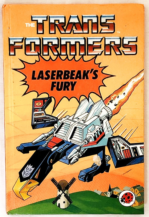 The Transformers Laserbeak's Fury Book Ladybird 1988