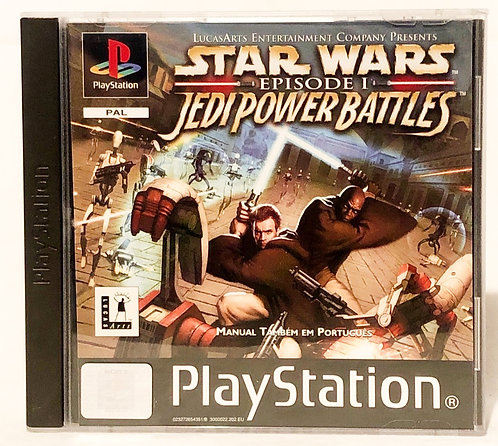 Star Wars Episode 1 Jedi Power Battles PlayStation Game U.K. (PAL)