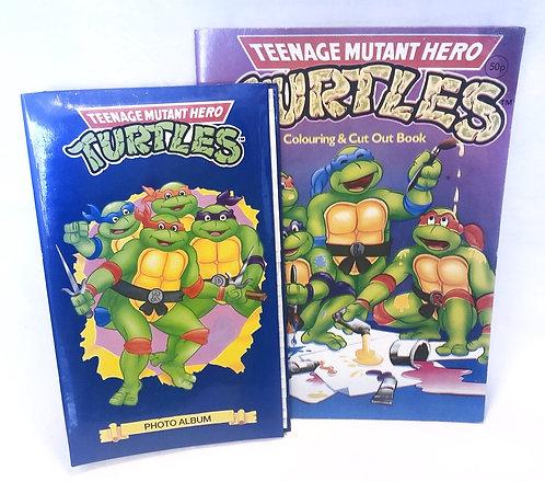 Teenage Mutant Hero Turtles Photo Album and Activity Book (UK)