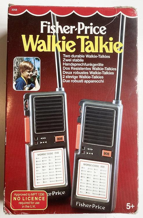 Fisher Price Walkie Talkie 3058 1983