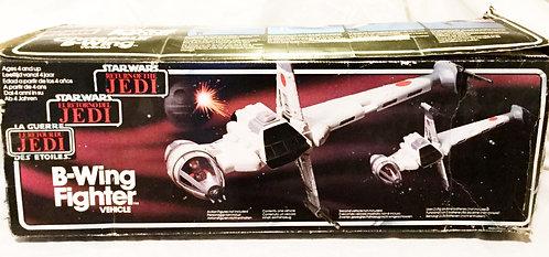 Vintage Star Wars Return Of The Jedi Tri-Logo B-Wing Fighter 1983