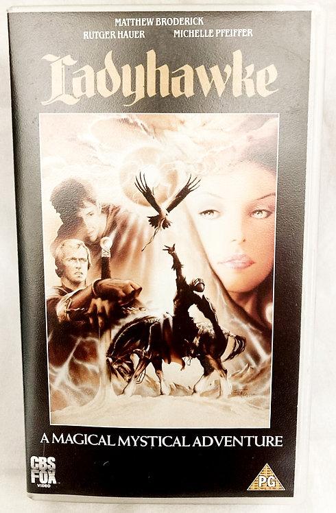 Ladyhawke VHS Sealed CBS FOX 1990