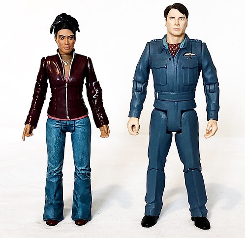 Doctor Who Captain Jack And Martha Set