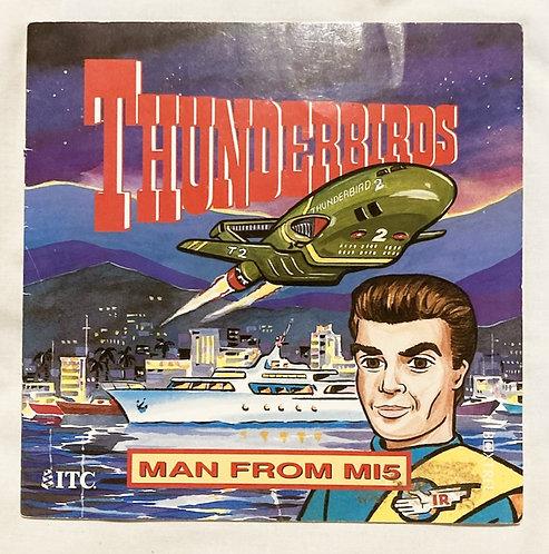 Thunderbirds Man From M15 Book 1992