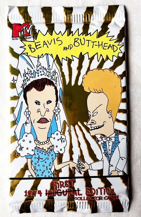 Beavis And Butt-Head Collector Cards 1994