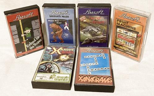 Commodore C16 6 x Game Set