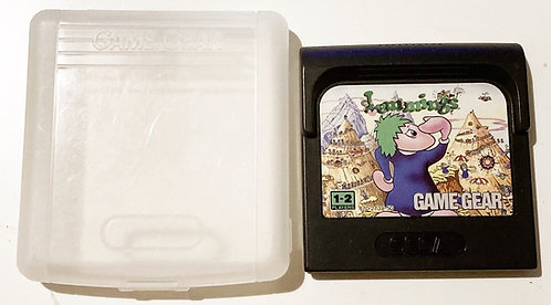 Sega Game Gear Lemmings U.K. (Pal)