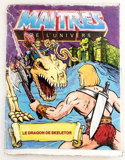 Masters Of The Universe Figure Comic English/Italian Mattel 1986