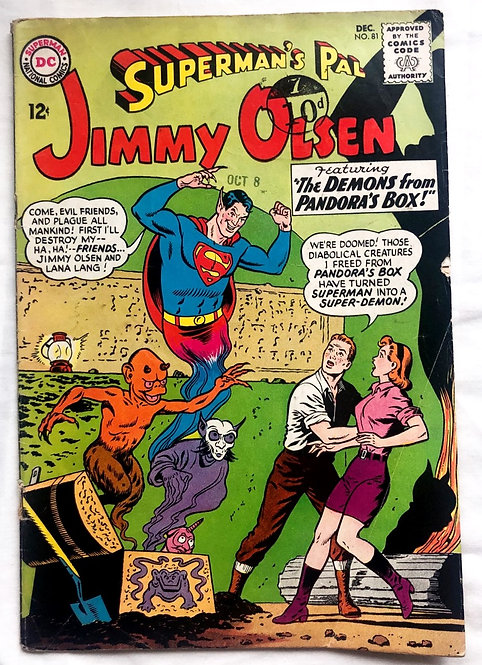 Superman's Pal Jimmy Olsen #81 DC 1964