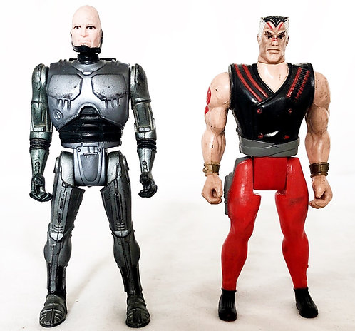 Robocop Figure Set Toy Island 1994