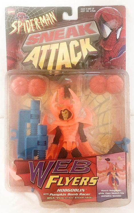Spider-Man Sneak Attack Web Flyers Hobgoblin Toy Biz 1997