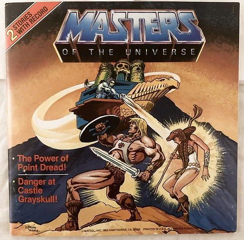 He-Man And The Masters Of The Universe 2 Story Record Point Dread Mattel 1982