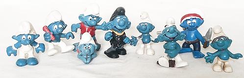 The Smurfs Figure Set (Parts)