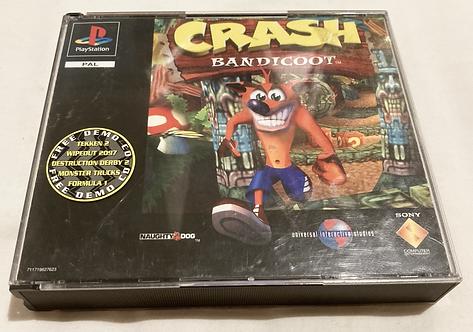 Sony Playstation Crash Bandicoot (Pal) UK