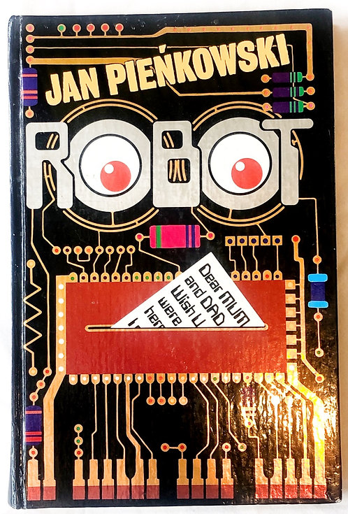 Robot Pop-Up Book Jan Pienkowski 1981
