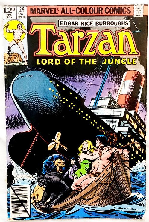 Tarzan Lord Of The Jungle Marvel #29 1979