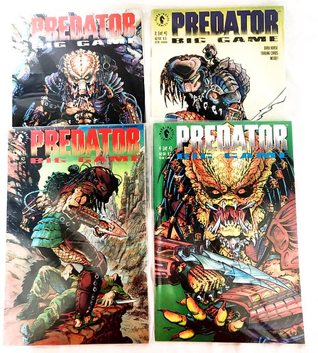 Predator Big Game Comic Set Dark Horse 1991