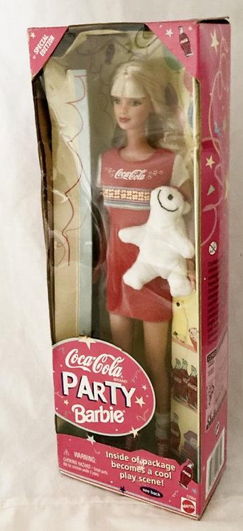 Barbie Special Edition Coca-Cola Party Mattel 1998