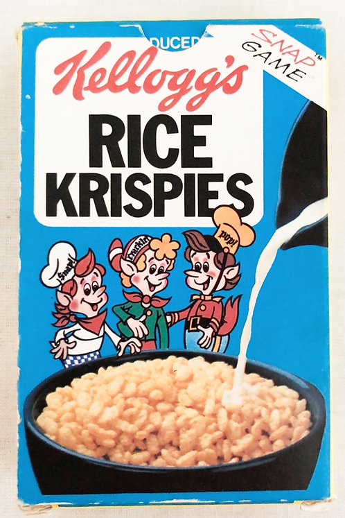 Kellogg's Rice Krispies Snap Game 1981 complete