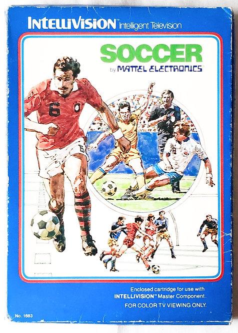 Soccer Intellivision Intelligent Television U.K. (PAL)