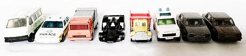 Vintage Die-Cast Car Set Corgi