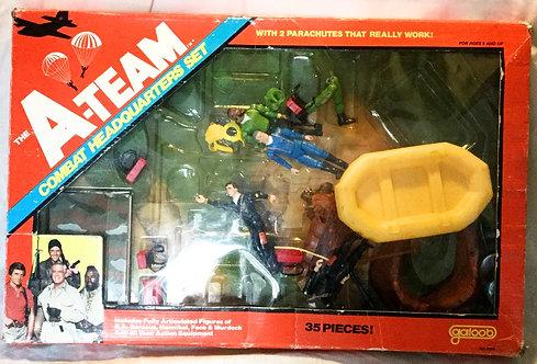The A-Team Bombat Headquarters Play Set Galoob 1983