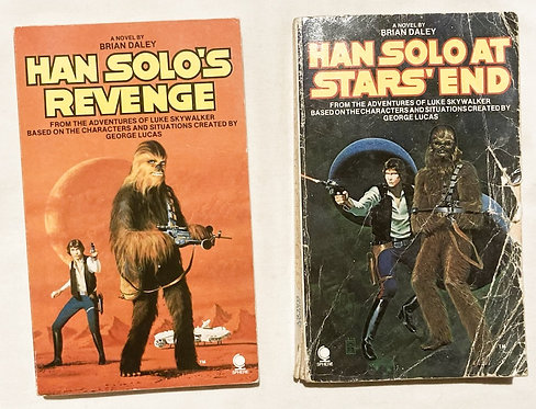 Star Wars Han Solo's Revenge And Han Solo At Stars' End