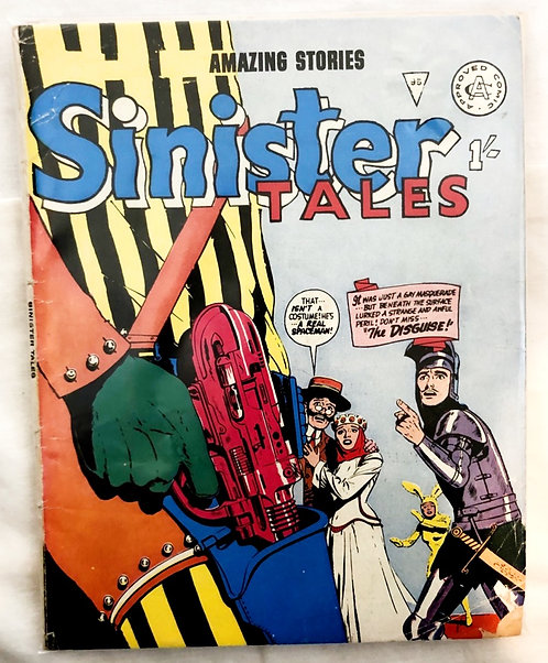 Amazing Stories Sinister Tales #95 #94 Set