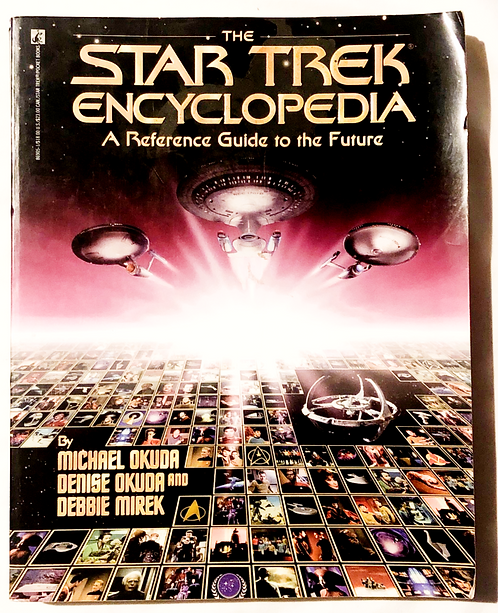 Star Trek Encyclopedia A Reference Guide To The Future 1994